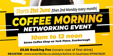 Business Owners Coffee Networking tickets