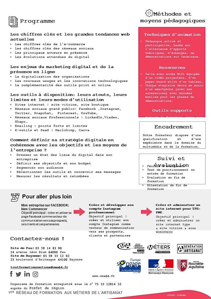 Image pour Stage GAGNER DES CLIENTS GRACE AUX OUTILS DU WEB
