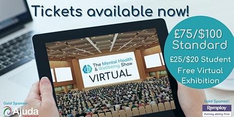 Mental Health & Wellbeing Show 2021 VIRTUAL billets