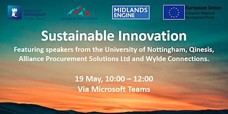 Sustainable Innovation biglietti