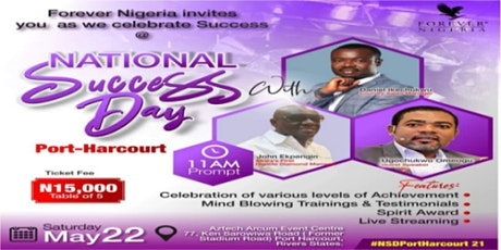 FOREVER LIVING PRODUCTS PORT HARCOURT NATIONAL SUC tickets