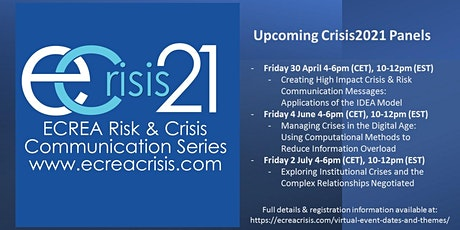 Managing Crises in the Digital Age: Computational Methods tickets