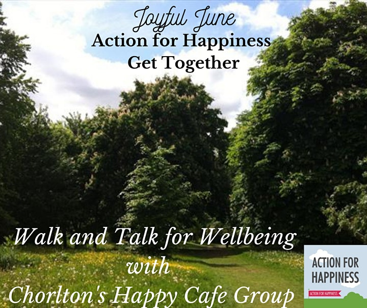 Joyful June AfH in person Get-Together - Walk and talk event image