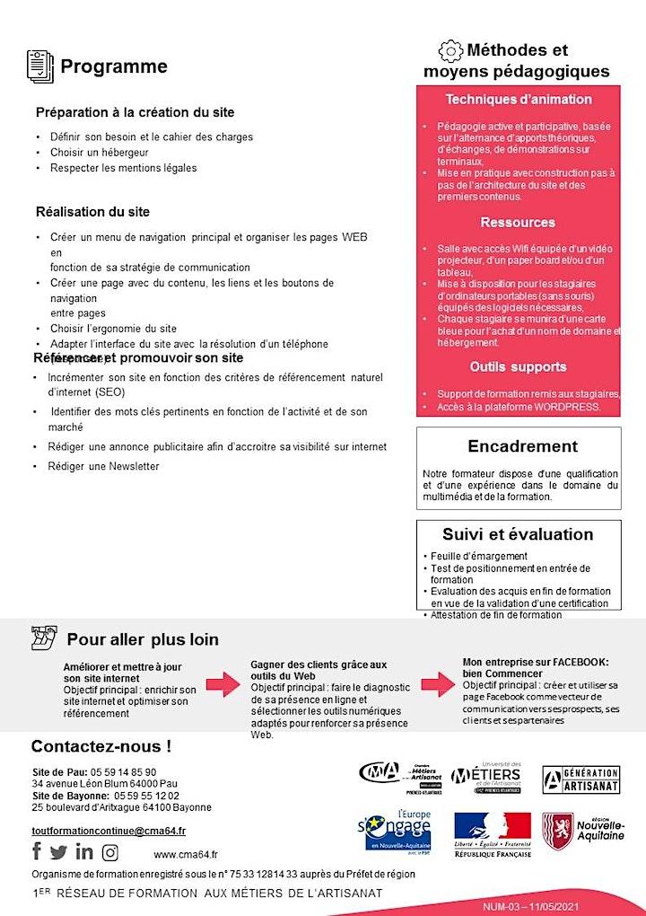 Image pour Stage CRÉER ET ADMINISTRER UN SITE  INTERNET POUR TPE - PME (4 jours)