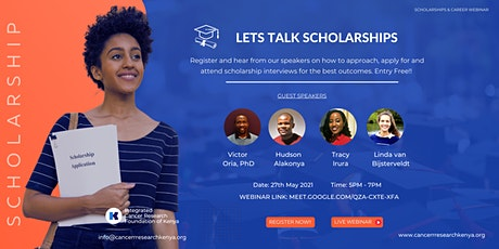 Scholarships and Careers Webinar tickets