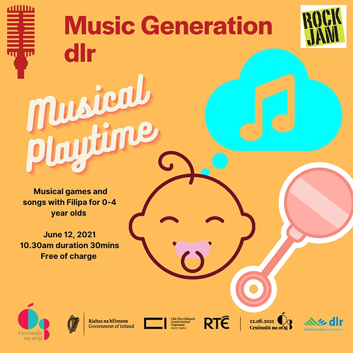 Music Generation dlr   Musical Playtime: parent and toddler image