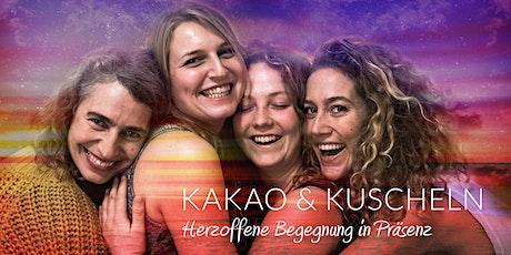 Kakao & Kuscheln: Herzoffene Begegnung in Präsenz Tickets