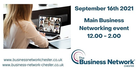 11th November 2021 Online Business Networking event + optional seminar Tickets