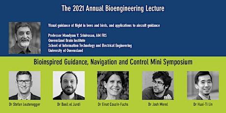 Annual Bioengineering Lecture + Bioinspired GNC Mini-symposium boletos
