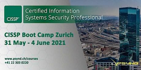 CISSP Preparation Boot Camp | ZÜRICH | May 31- June 4 Tickets