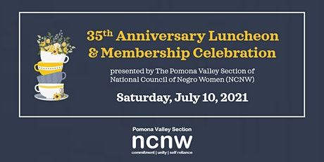 NCNW PVS 35th Anniversary Luncheon  & Membership Celebration tickets