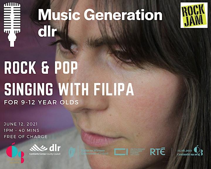 Music Generation dlr: Rock & Pop singing image