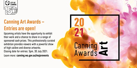 Canning Art Awards Entry Form 2021 tickets