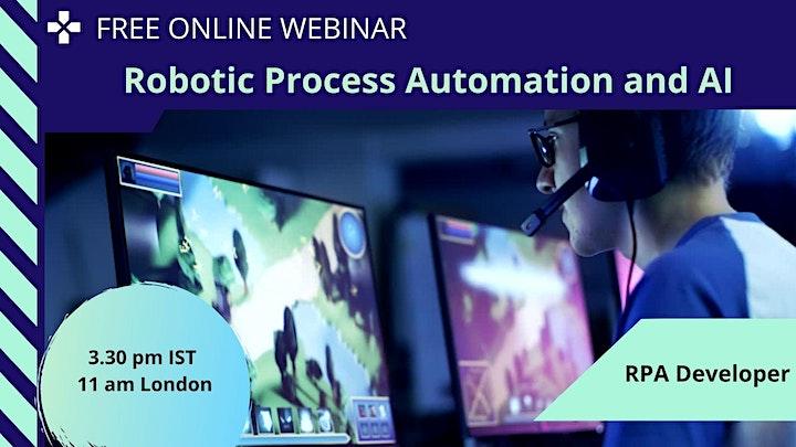 Robotic Process Automation & Uipath  Info : Online Session - London image