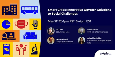 Smart Cities: Innovative GovTech Solutions to Social Challenges tickets