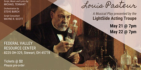 Louis Pasteur - A musical play by LightSide Acting Troupe tickets