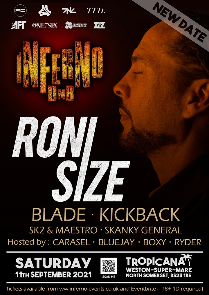 Inferno DnB presents RONI SIZE image