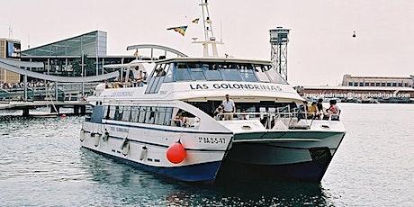 Las Golondrinas Boat tour around Barcelona Port 40min entradas