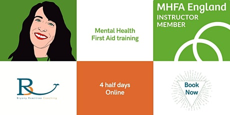 Mental Health First Aid (MHFA) training - MHFA England Approved tickets