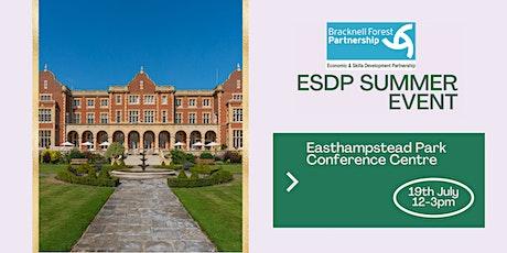 Bracknell Forest Economic & Skills Development Partnership Summer Event tickets