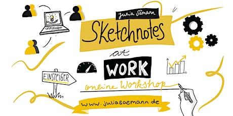 Sketchnotes @Work - der Workshop für Einsteiger (Online) Tickets