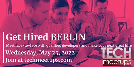 Get Hired Berlin Tickets