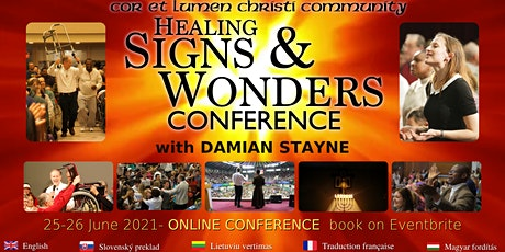 Healing Signs & Wonders ONLINE with Damian Stayne tickets