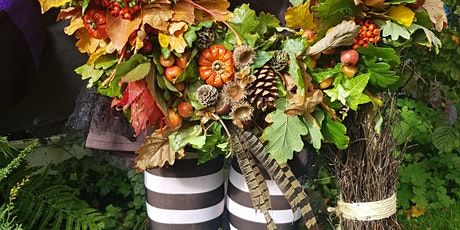 Gardening Lady HALLOWEEN Wreath Making Workshop 1 tickets
