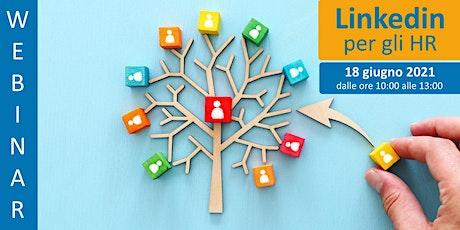 Corso formativo: Linkedin per gli HR biglietti