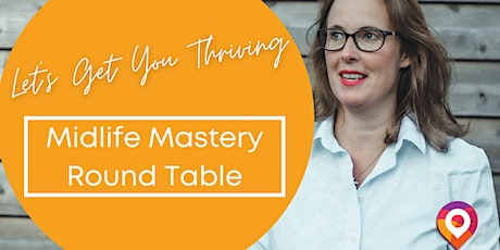 Weekly Free Thrive In Midlife Coaching Call tickets