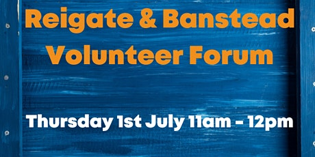 Reigate & Banstead Volunteer Forum tickets