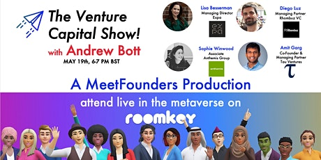 The Venture Capital Show! [May 19] LIVE RECORDING tickets