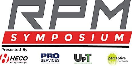 2021 Reliability, Process, & Maintenance (RPM) Symposium tickets