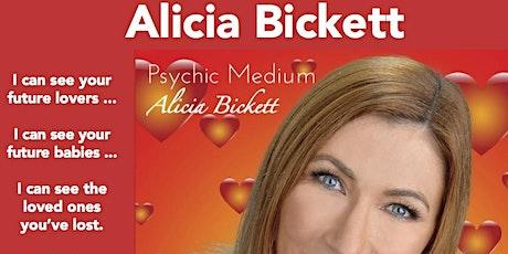 Alicia Bickett Psychic Medium Event - Gold Coast - Burleigh RSL Club tickets