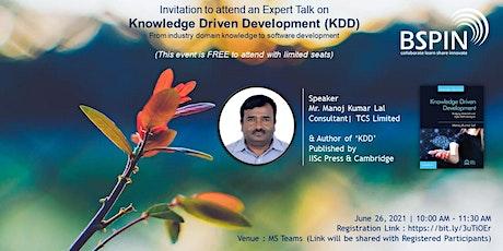 Knowledge Driven Development (KDD) tickets