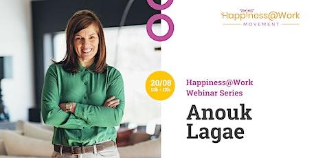 Online Webinar: Anouk Lagae (CEO Accent Jobs) tickets