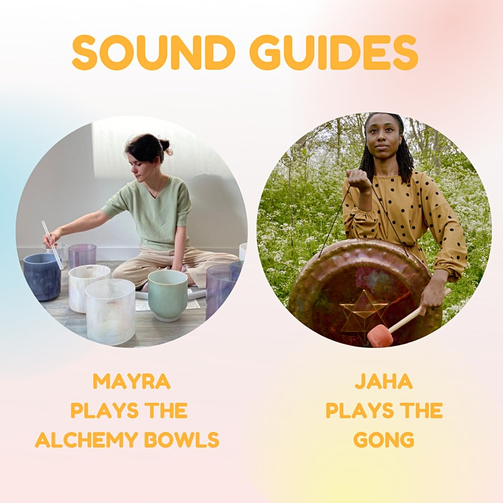 Sound Healing with Jaha & Mayra image