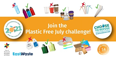 Join the Plastic Free July Challenge! tickets
