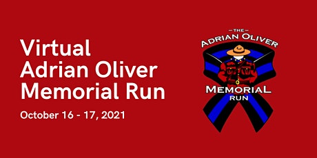 2021 Virtual Adrian Oliver Memorial Run tickets