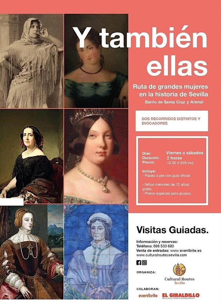 """Imagen de Ruta """"Y también ellas: grandes mujeres en la historia de Sevilla"""" Iª parte"""
