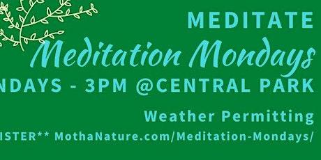 Central Park Meditation Mondays tickets
