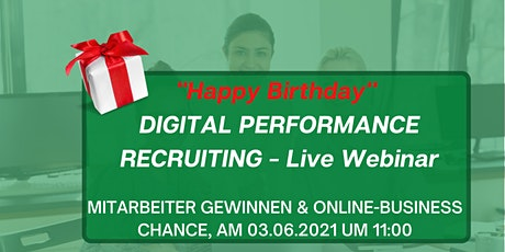 """Happy Birthday"" Live Webinar DIGITAL PERFORMANCE RECRUITING Tickets"