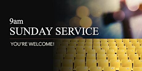 9am Sunday Service - 4th July 2021 tickets