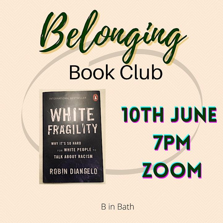 Belonging Book Club: White Fragility image