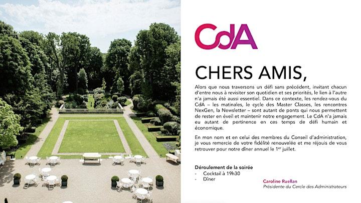 Image pour Diner de gala CdA