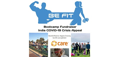 BE FIT Bootcamp Fundraiser - India COVID-19 Crisis Appeal tickets