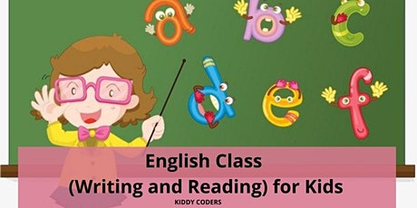 English Private Trial (Writing and Reading) for Kids tickets