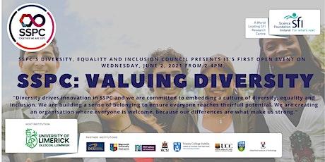 SSPC: Valuing Diversity tickets