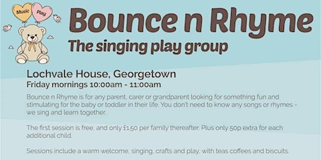 Bounce n rhyme tickets