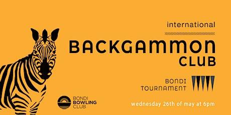 Bondi Tournament - 1st ed. tickets